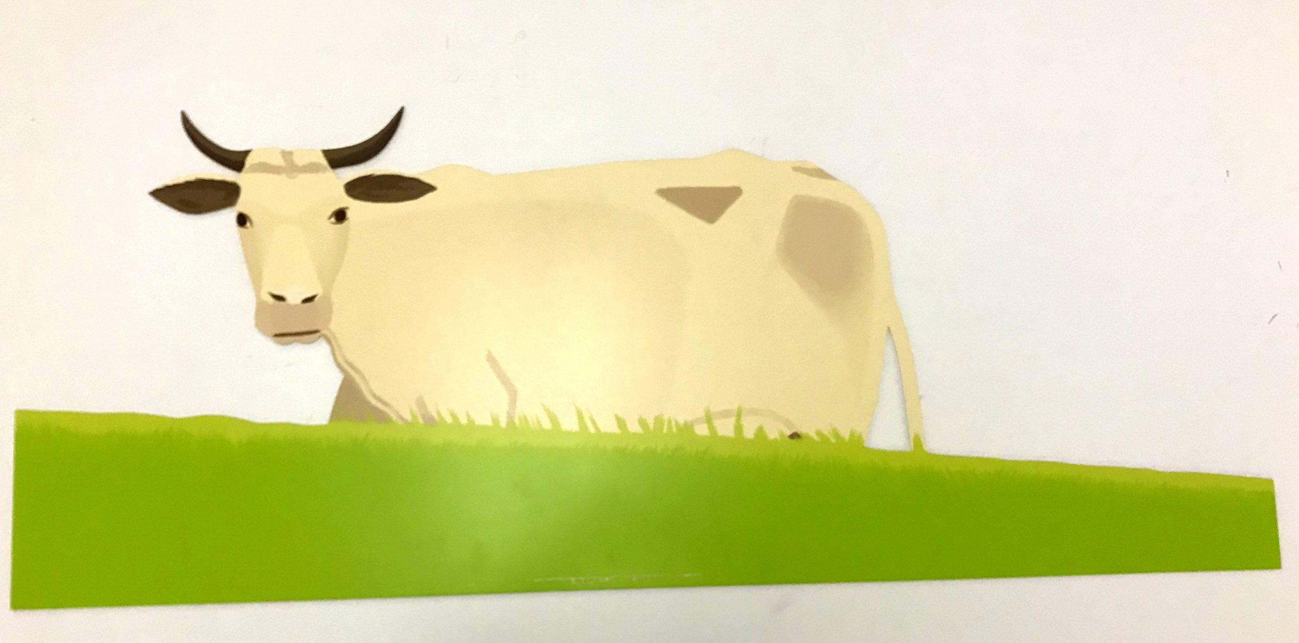 Cow by Alex Katz