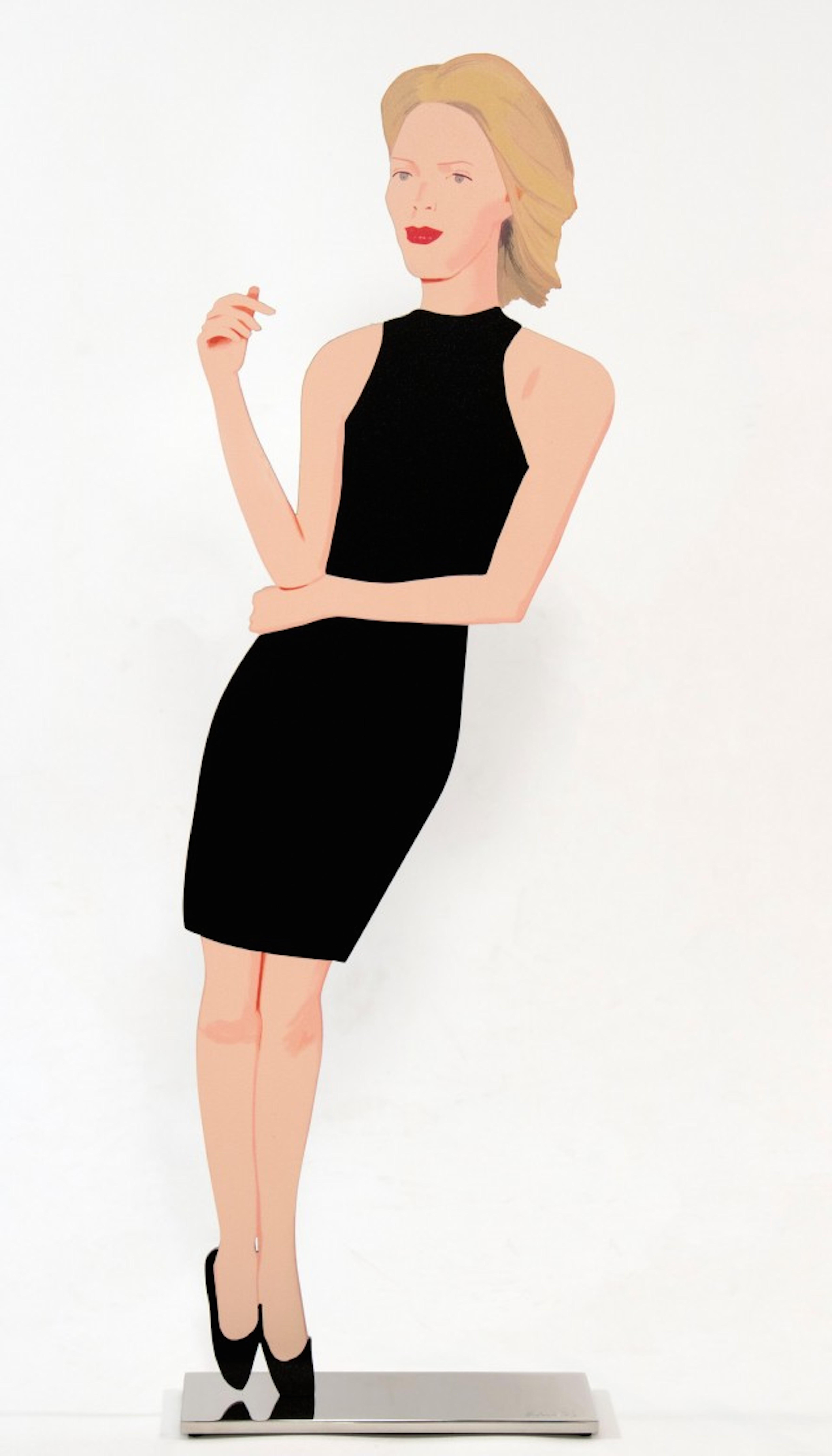 Ruth From Black Dress by Alex Katz