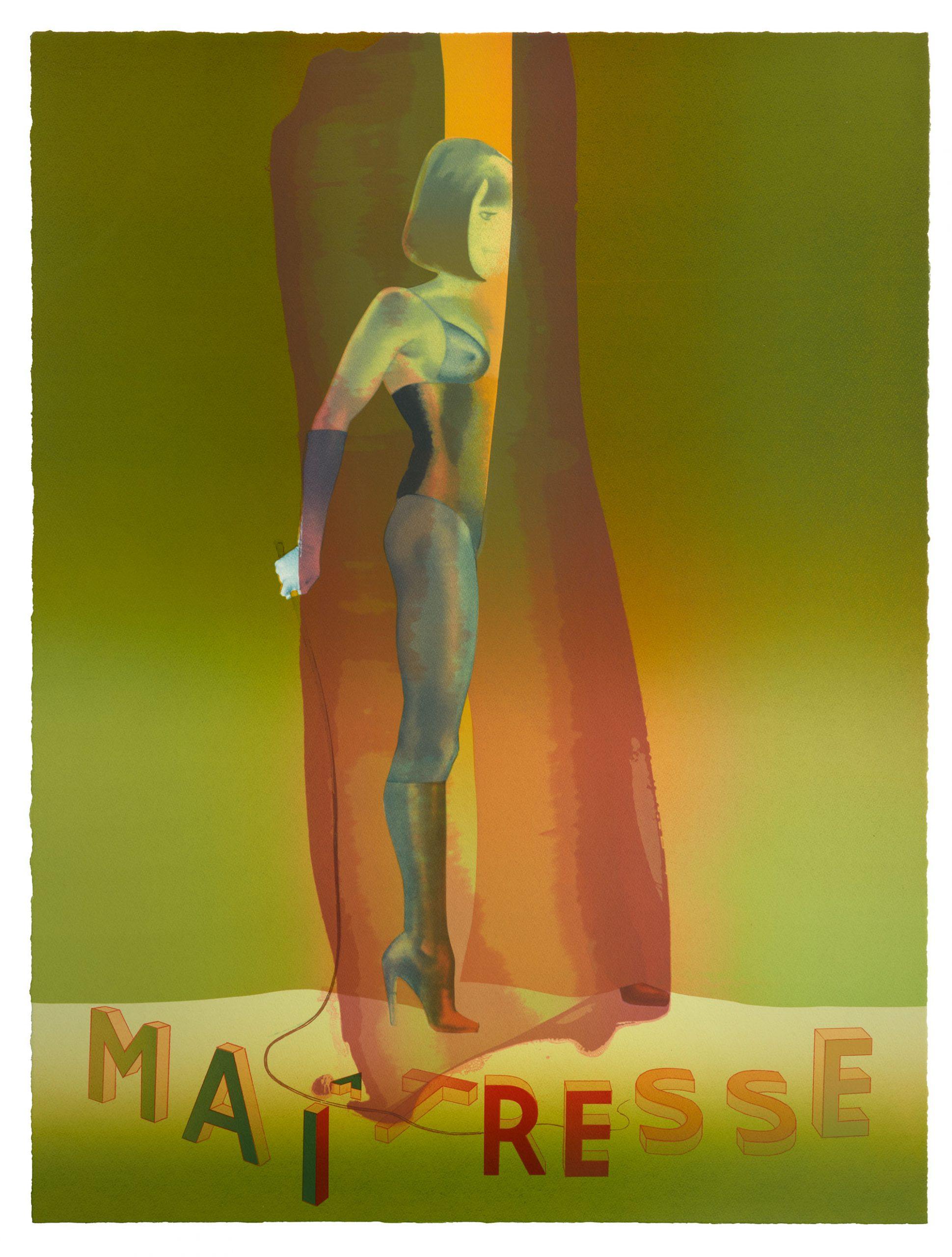 Maitresse Folio Screenprint Ii by Allen Jones
