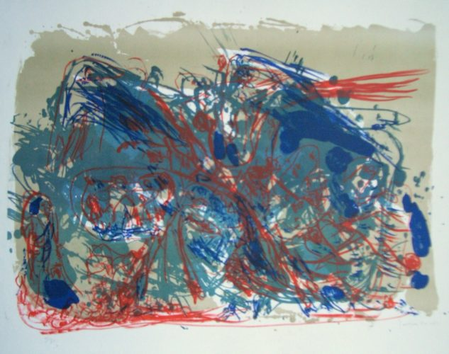 L'oubli by Asger Jorn at