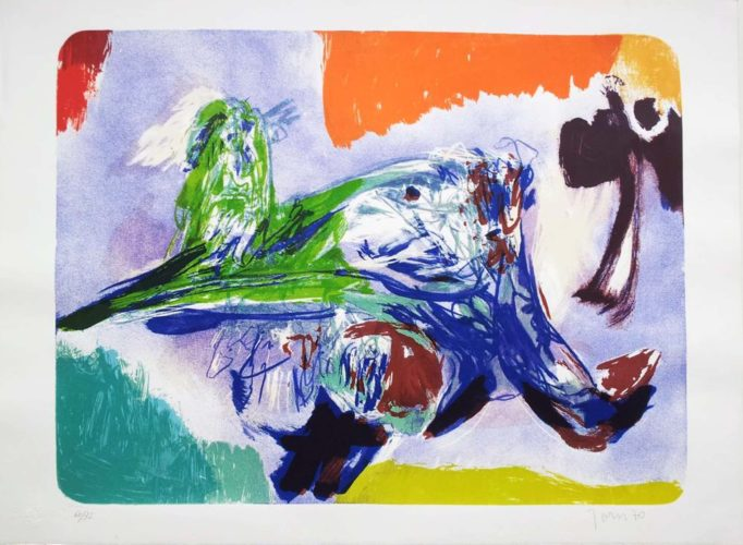 Sulla Strada Ii by Asger Jorn at
