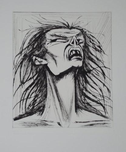 L'enfer De Dante by Bernard Buffet at