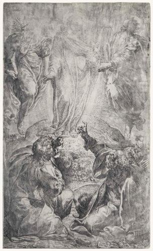 The Transfiguration by Camillo Procaccini