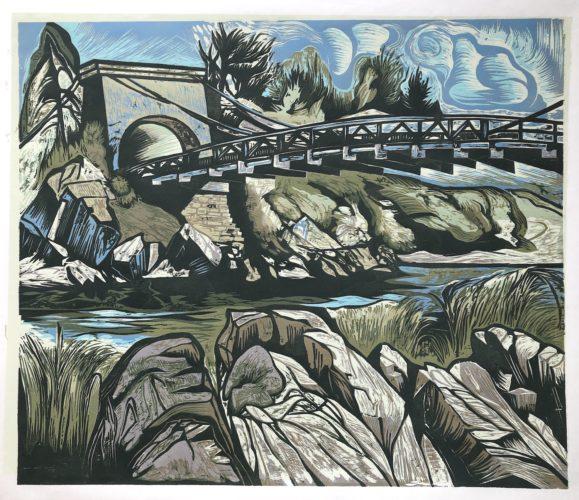 Chain Bridge by Don Gorvett