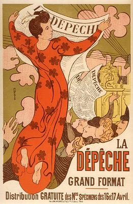 Le Depeche De Toulouse by Maurice Denis at
