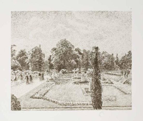 Jardin Anglais Près London by Camille Pissarro at