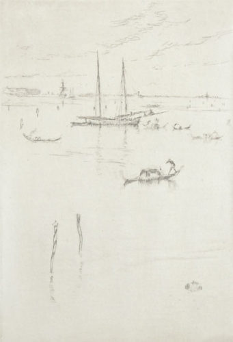 The Little Lagoon by James Abbott McNeill Whistler