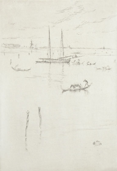 The Little Lagoon by James Abbott McNeill Whistler