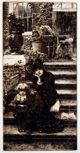 Reverie by James Tissot at