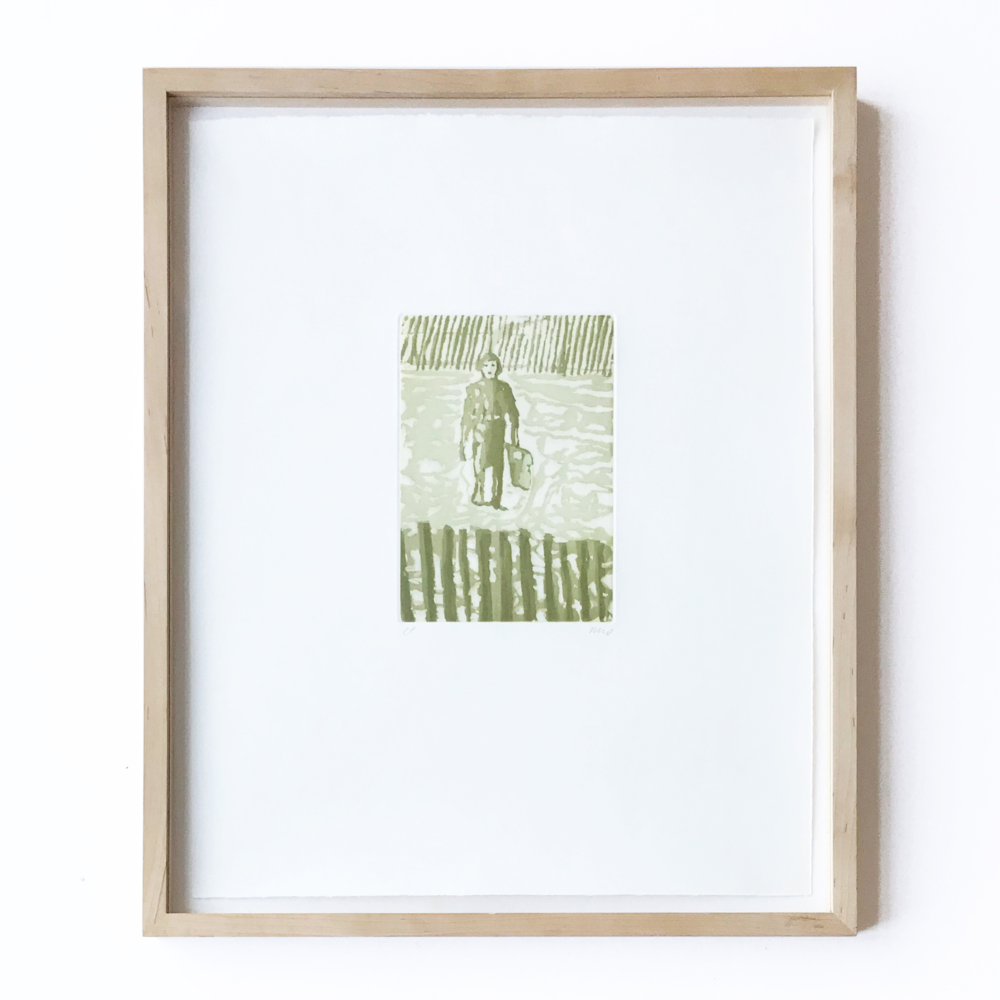 Untitled (from Blizzard '77) by Peter Doig