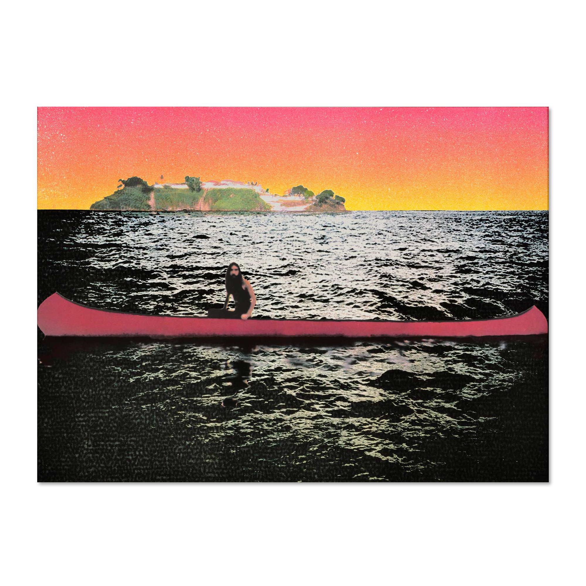 Canoe Island by Peter Doig