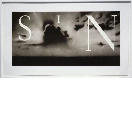 Sin / Without by Ed Ruscha