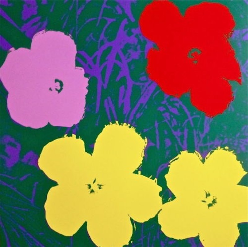 Flowers Iv by Andy Warhol (after)