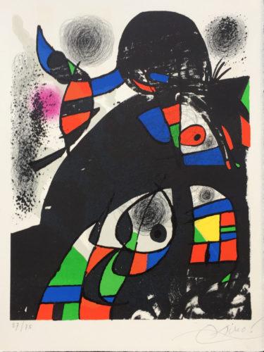 San Lazzaro Et Ses Amis by Joan Miro at Grabados y Litografias.com