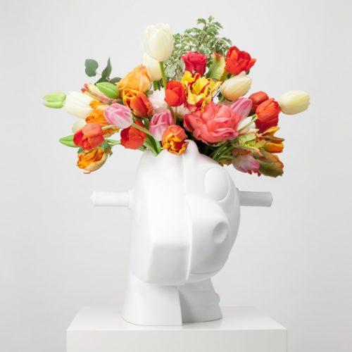 Split-rocker (vase) by Jeff Koons