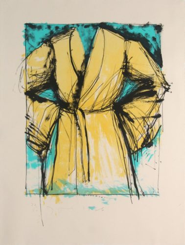 A Robe by Jim Dine at Jim Dine