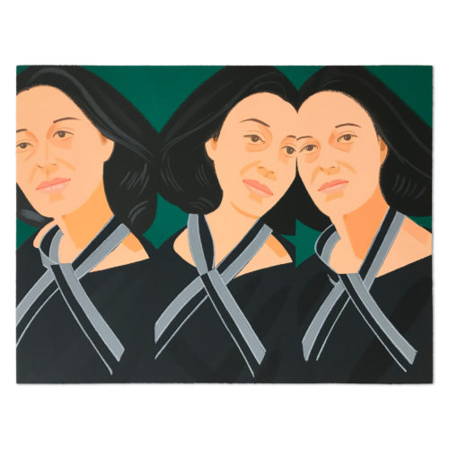 Grey Ribbon (ada Three Times) by Alex Katz
