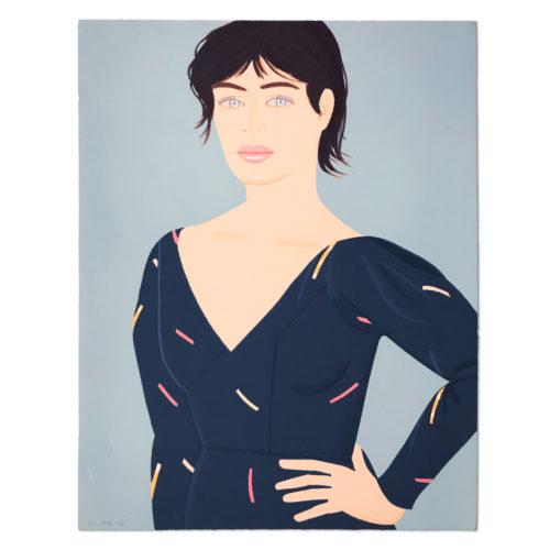 Grey Dress by Alex Katz