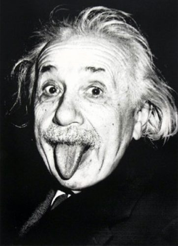 Happy Birthday Einstein by Mr Brainwash