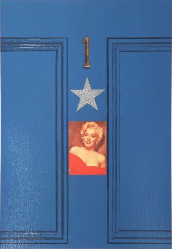 Peter Blake – Marilyn Blue Door by Peter Blake