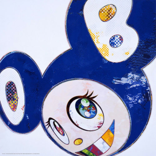 And Then… (blue) by Takashi Murakami at Michael Lisi/Contemporary Art