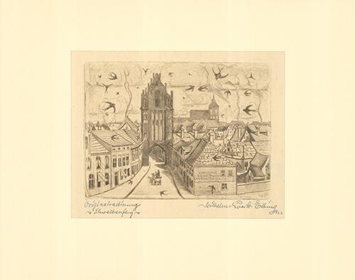Schwalbenflug by Wilhelm Noack at