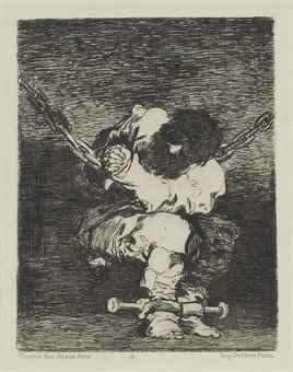 Tan Bárbara La Seguridad Como El Delito (little Prisoner) by Francisco Goya