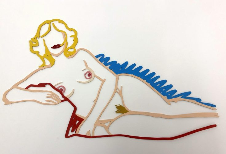 Rosemary Lying On One Elbow by Tom Wesselmann