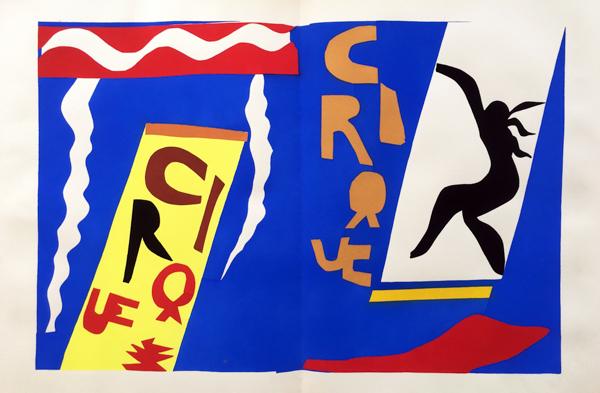 Le Cirque (circus) by Henri Matisse