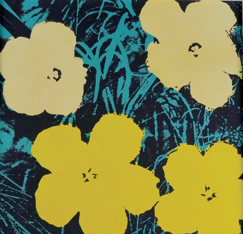 Flowers Vii by Andy Warhol (after)