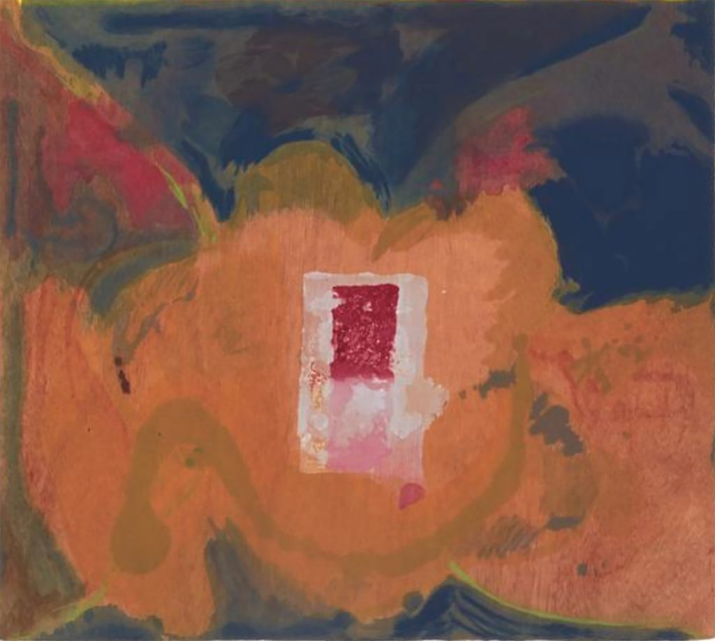 Tales Of Genji V by Helen Frankenthaler