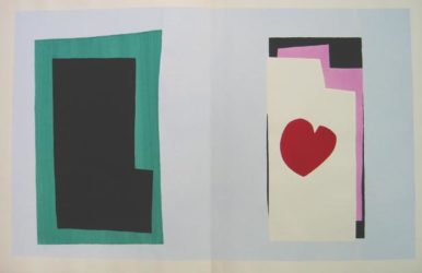 Le Coeur (heart) by Henri Matisse at