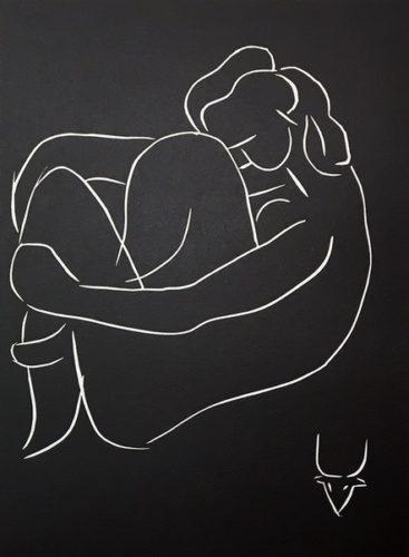 …seule, Au Pied Du Grand Caroubier… by Henri Matisse