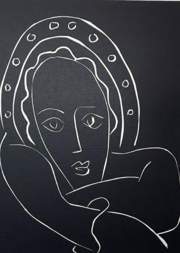 …le Regard Fixe, Les Joues En Feu… by Henri Matisse