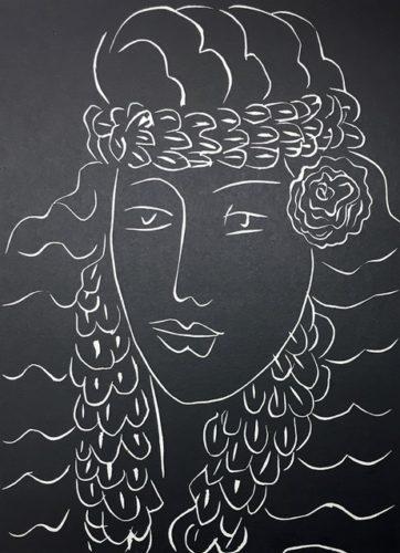 …et Je Me Reposerai Enfin Dans Le Rien Que Je Convoite… by Henri Matisse