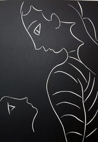 …on Dirait Qu'elle Ne M'a Jamais Vue… by Henri Matisse