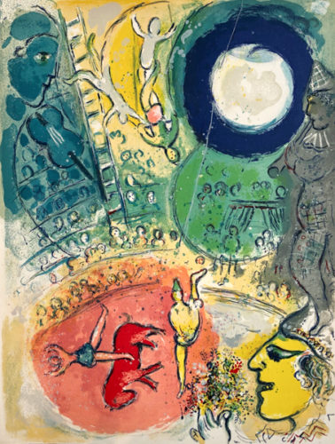 Le Cirque M. 501 by Marc Chagall