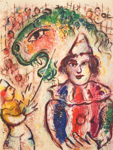 Le Cirque M. 504 by Marc Chagall