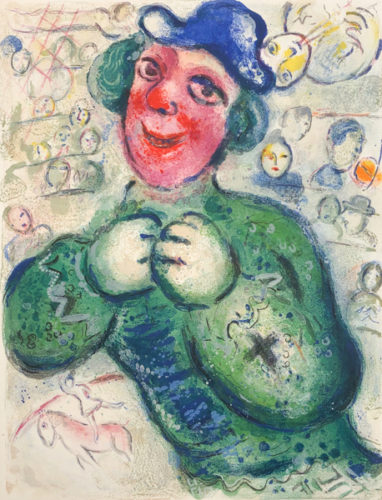 Le Cirque M. 505 by Marc Chagall