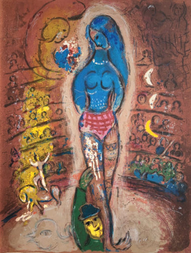 Le Cirque M. 523 by Marc Chagall