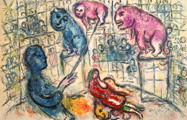 Le Cirque M. 506 by Marc Chagall