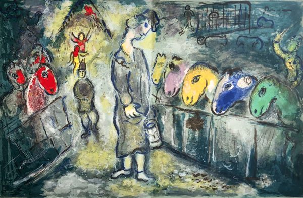 Le Cirque M. 510 by Marc Chagall