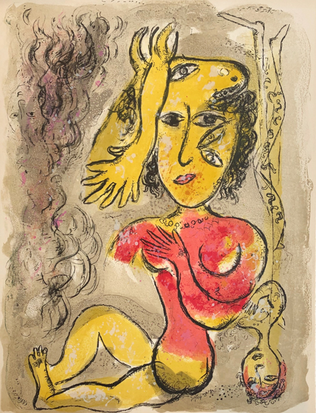 Le Cirque M. 515 by Marc Chagall