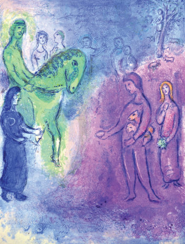 Arrival Of Dionysophanes by Marc Chagall at Galerie d'Orsay