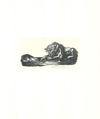 Der Grosse And Der Kleine by Walther Klemm