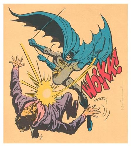 Bat-wockk by Mr. Brainwash at Mr. Brainwash