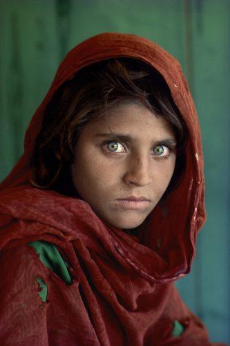 Afghan Girl (sharbat Gula), 1984 by Steve McCurry at