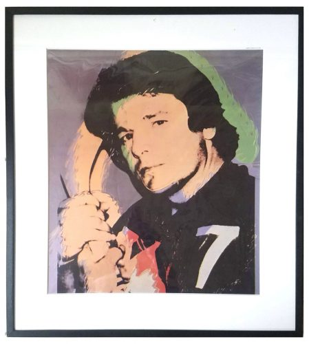 Rod Gilbert by Andy Warhol at Andy Warhol