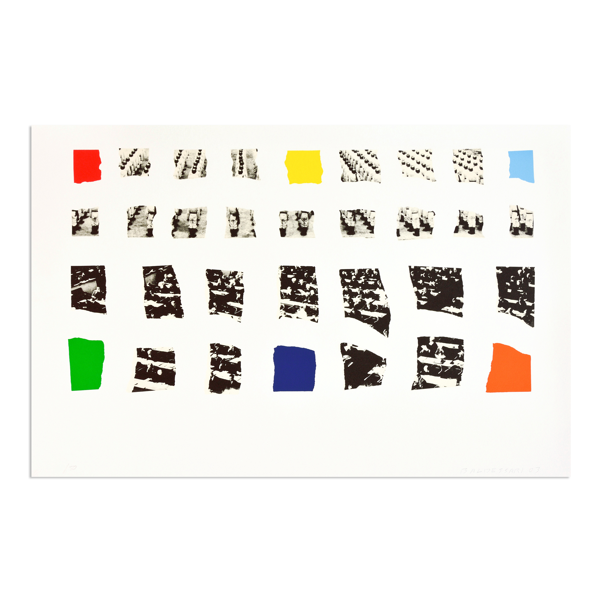 Two Assemblages (opaque) by John Baldessari
