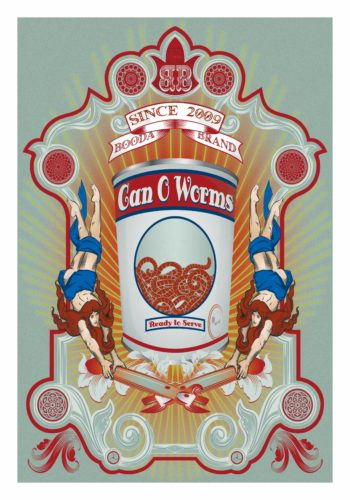 Can Of Worms by Booda Brand